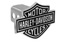 Harley-Davidson® Trailer Hitch Cover Plug With 3D Bar & Shield