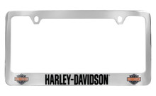 Harley-Davidson® Colored Bar & Shield License Plate Frame