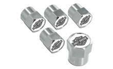 Harley-Davidson® Black Bar & Shield Valve Stem Cap