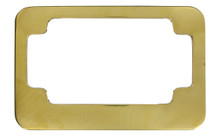 Solid Brass Motor Cycle Plate Frame