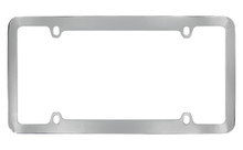 Chrome Plated Plain License Plate Frame 4 Hole (LF326)