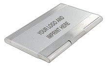 Stainless Steel Name Card Case Brush