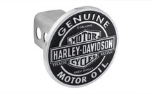Harley-Davidson® Genuine Motor Oil Trailer Tow Hitch Cover