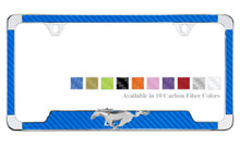 """/"""" I Love My Stang/""""  Mustang License Plate Frame"""