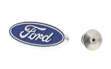 Ford Zinc Chrome Plated Lapel Pin