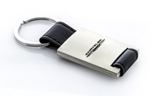 Rectangular Shaped Keychain with Laser Engraved Chrysler Imprint