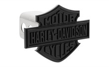 Harley-Davidson® Hitch Cover With Matte Black Powder Coated Bar And Shield Emblem