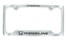 Honda RIDGELINE metal license frame holder