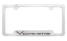 Chevrolet Corvette C7 metal license frame holder