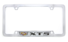 Cadillac XT5 metal license plate frame holder