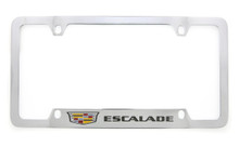 Cadillac ESCALADE metal license plate frame holder