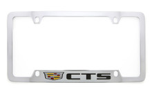 Cadillac CTS metal license plate frame holder