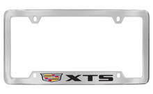 Cadillac XTS metal license plate frame holder