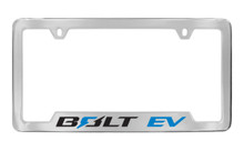 Chevrolet BOLT EV logo metal license frame holder