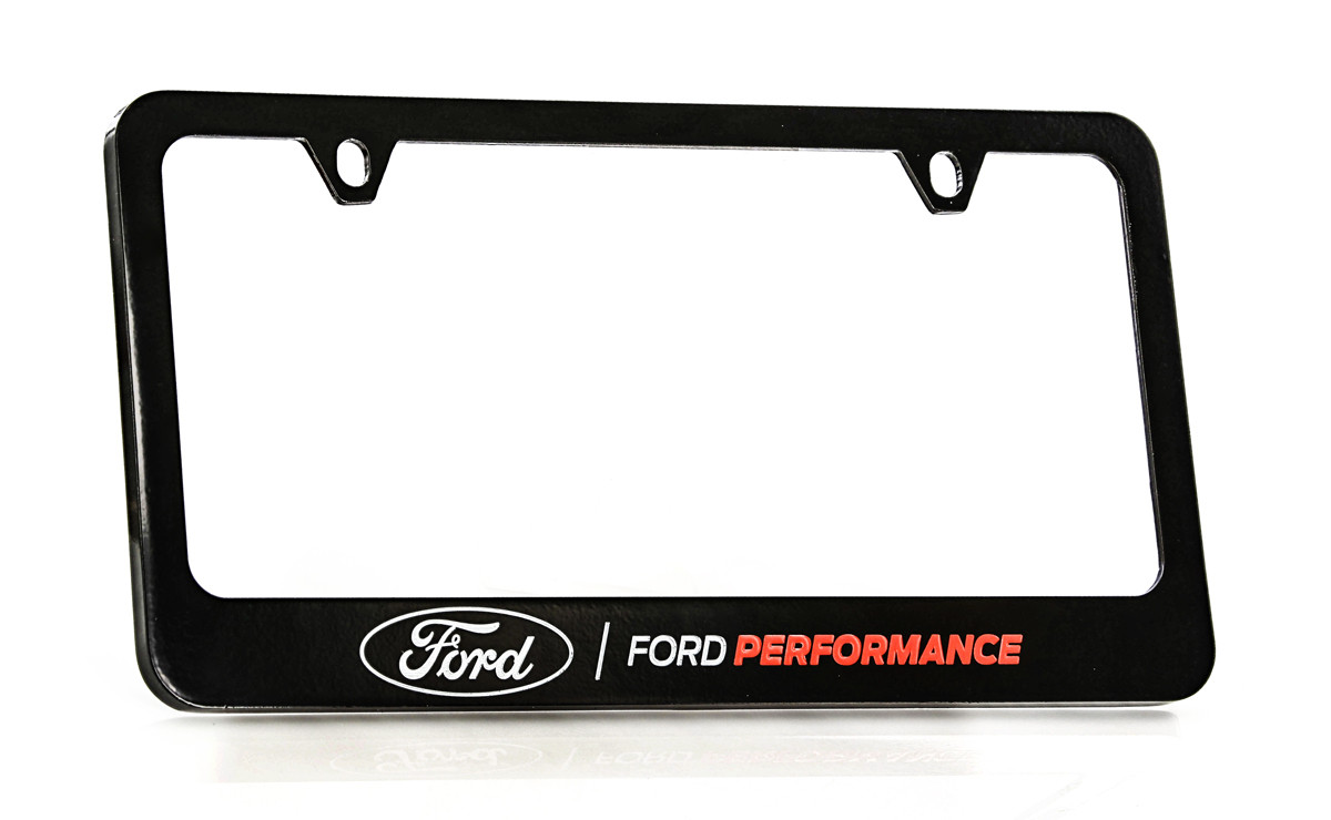 Pontiac Black License Plate Frame Zinc Metal
