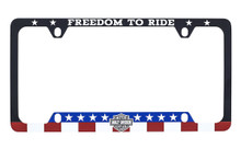 Harley Davidson ' FREEDOM TO RIDE ' license frame