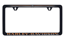 Harley Davidson Wordmark Thin Rim License Frame
