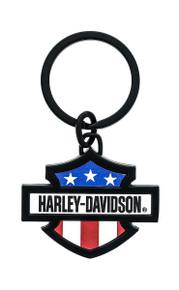 Harley-Davidson® Patriotic Theme Key Chain