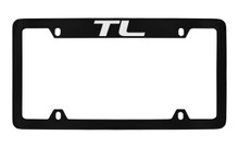 Acura TL Officially Licensed Black License Plate Frame Holder (ACE6-U)