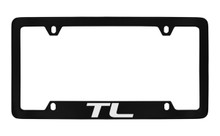 Acura TL Officially Licensed Black License Plate Frame Holder (ACE6-UF)