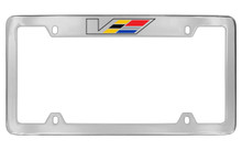 Cadillac V-Series License Plate Frame Tag Holder(CAV1-U)