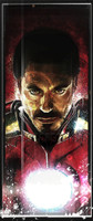 Daniel Murray Iron Man Comic Book Art Signed Print Pearl