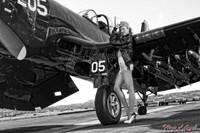 Wings of Angels Michael Malak Ashten Goodenough 02 WWII Corsair 11x17