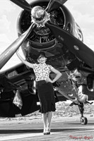 Wings of Angels Michael Malak Ashten Goodenough 07 WWII Corsair 11x17