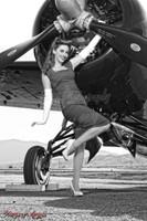 Wings of Angels Michael Malak Kacie Marie 01 WWII F4F Wildcat Print
