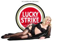 Michael Malak Caitlin Litzinger Lucky Strike Advert Print