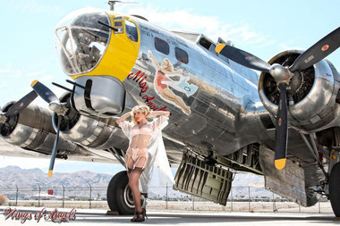 Wings of Angels Malak Caitlin WWII Flying Fortress