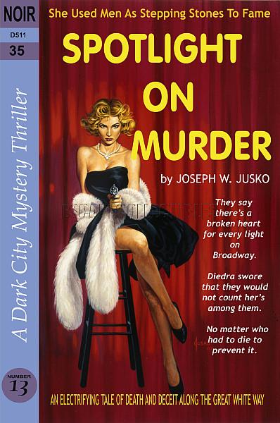 Joe Jusko Cuddle The Corpse Faux Paperback Art Signed Print