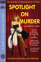 Joe Jusko Spotlight on Murder Faux Paperback Art Signed Print