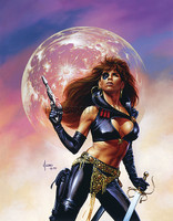 Joe Jusko Patch Signed Print