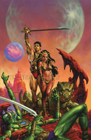 Joe Jusko John Carter 100th Anniversary