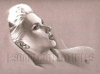Scarlett Johansson Signed Print Adam Braun