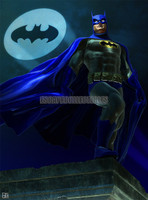 Daniel Murray Batman Iconic IV Signed Print