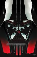 Darth Vader Portrait Signed Print Luster Daniel Murray
