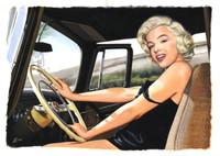 Marilyn Monroe 02 by Ed Lloyd Gragg