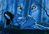 Wolf Girl by Ed Lloyd Gragg