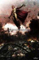 Magneto Brotherhood Wasteland Xmen Signed Print Daniel Murray