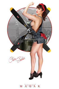 WWII Pin Up Nose Art