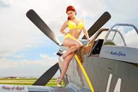 Wings of Angels Malak Ariel WWII P-51D Mustang Print 05