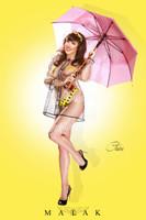Claire Sinclair - Rainy Day Claire Print Malak