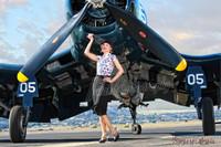Wings of Angels F4U-4 Corsair Beautiful Ashten Malak