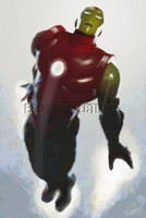 Avengers Iron Man Classic Signed Print Daniel Murray