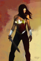 Wonder Woman Signed Print Daniel Murray