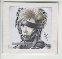 Raiden Original Color Drawing by Warren Louw