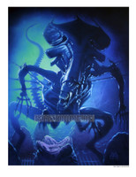 Alien Queen Signed Print Den Beauvais