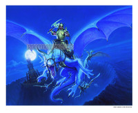 Dragons of Midnight Signed Print Den Beauvais